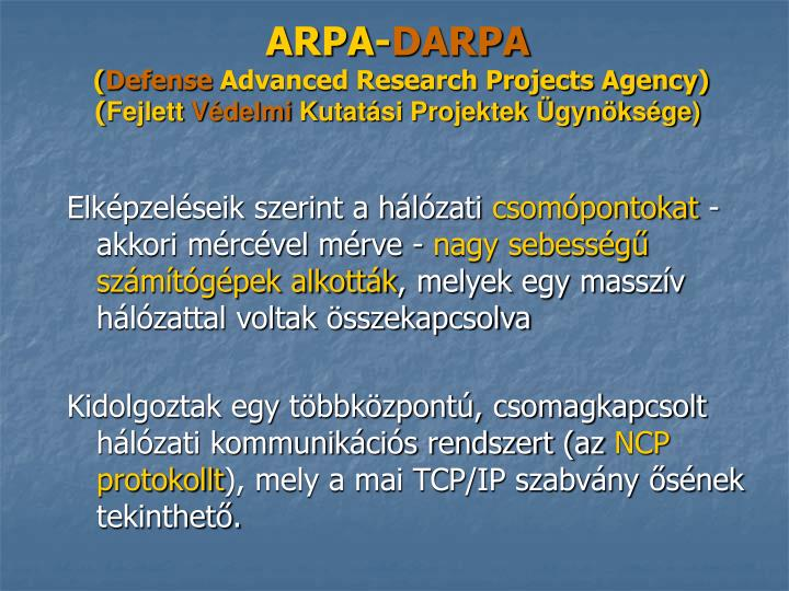 ARPA-