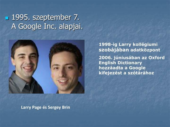 1995. szeptember 7.