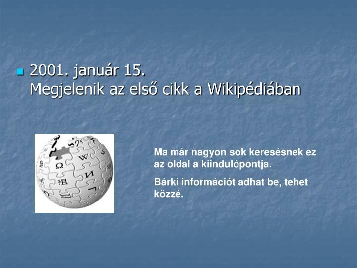 2001. január 15.