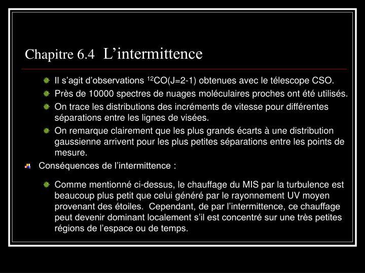 Chapitre 6.4