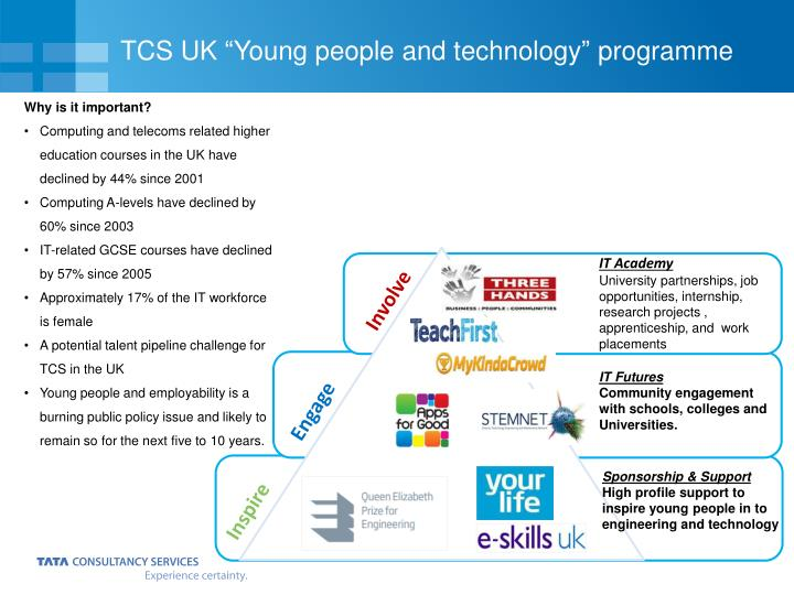 "TCS UK ""Young people and technology"" programme"