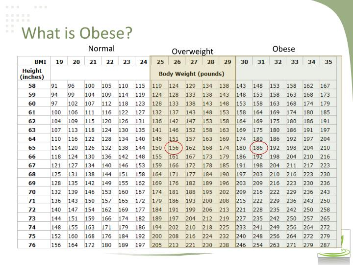 What is Obese?