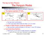 the key to new physics the penguin modes