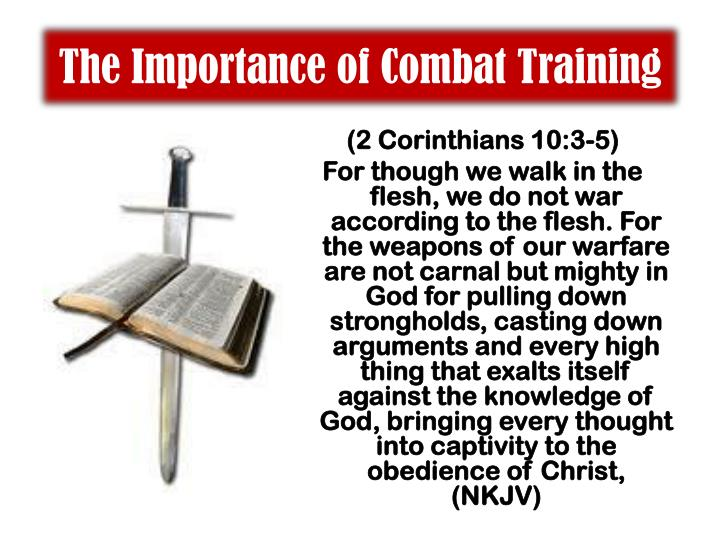 The Importance of Combat Training