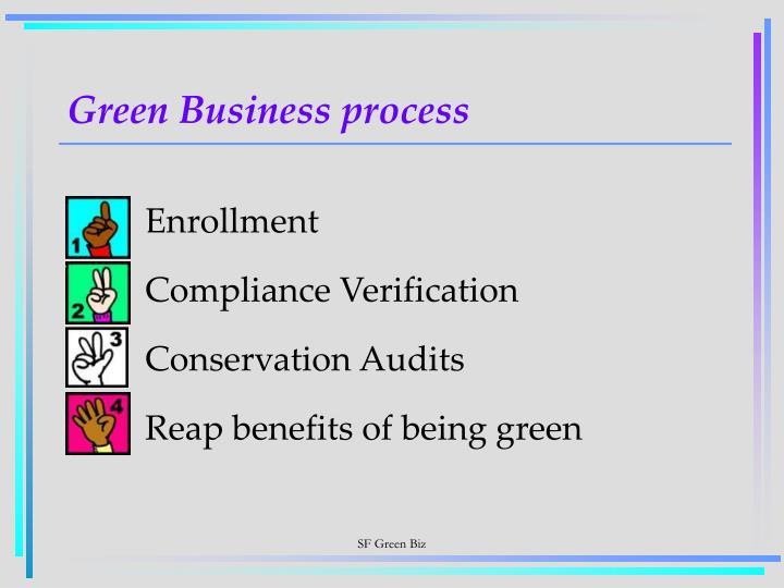 Green Business process