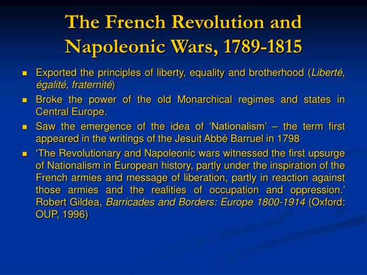 a description of germany under the power of napoleons french empire Napoleon's fall in late 1812, with news of napoleon's retreat from moscow, people under his rule in germany, austria, italy napoleon boasted of having spared french soldiers by sacrificing poles and germans, which outraged metternich - a german.