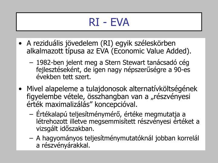 RI - EVA