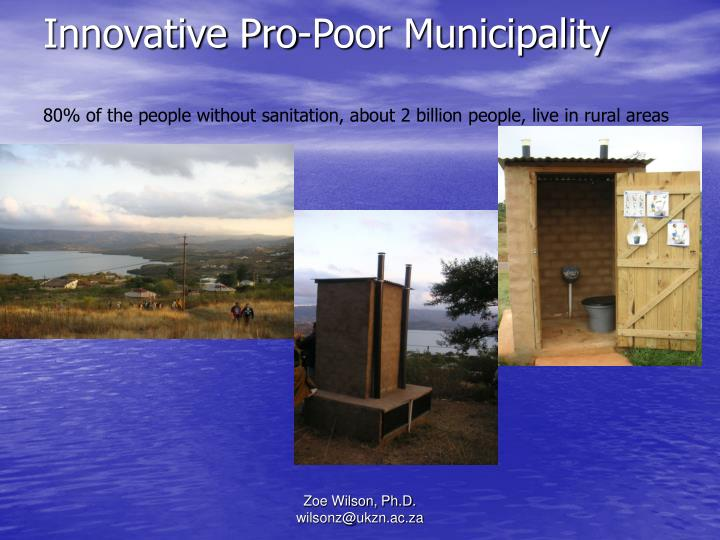 Innovative Pro-Poor Municipality