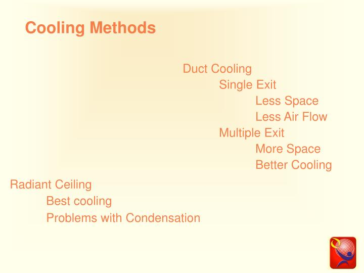 Cooling Methods