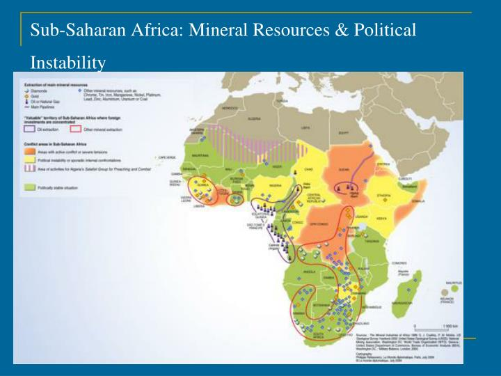 Sub-Saharan Africa: Mineral Resources & Political Instability