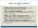 cms four calls to action