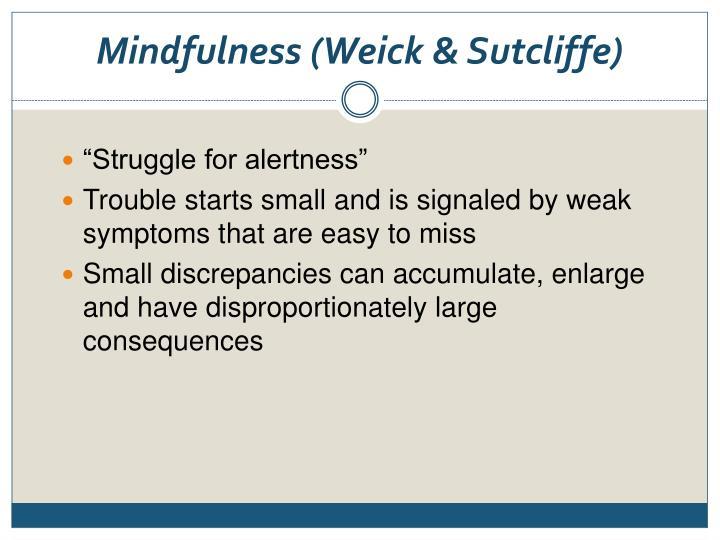 Mindfulness (