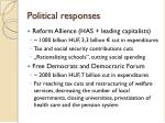 political responses1
