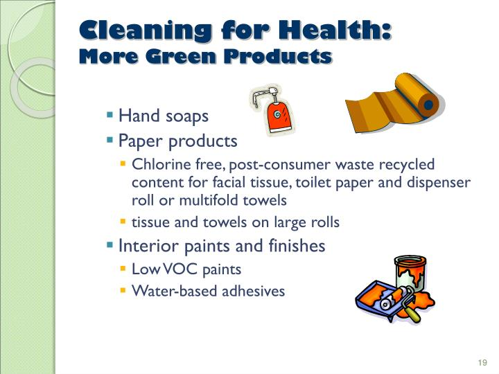 Cleaning for Health: