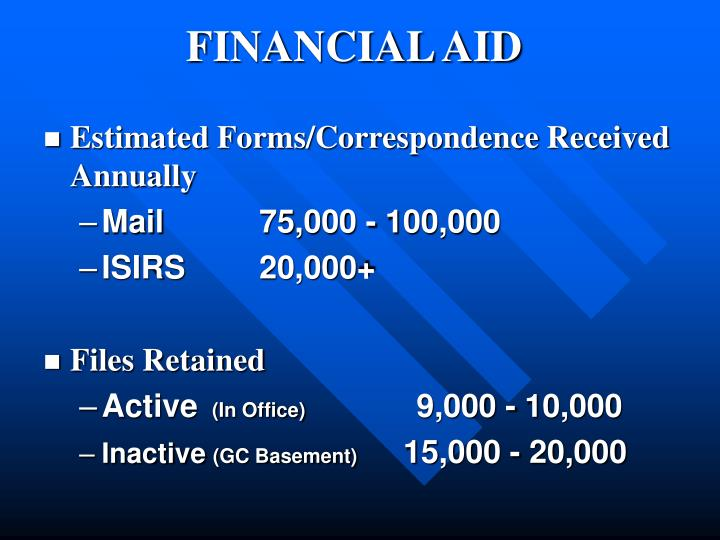 Estimated Forms/Correspondence Received Annually
