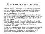 us market access proposal