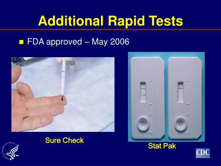 Additional Rapid Tests
