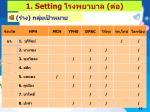 1 setting1