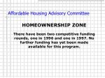 affordable housing advisory committee11