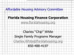 affordable housing advisory committee13