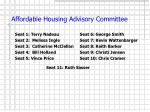 affordable housing advisory committee14