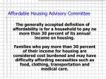 affordable housing advisory committee3