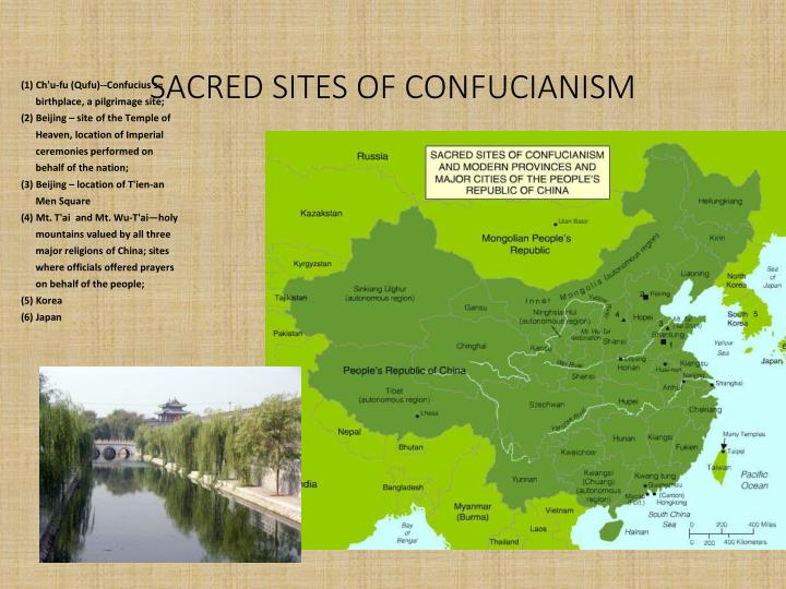 SACRED SITES OF CONFUCIANISM