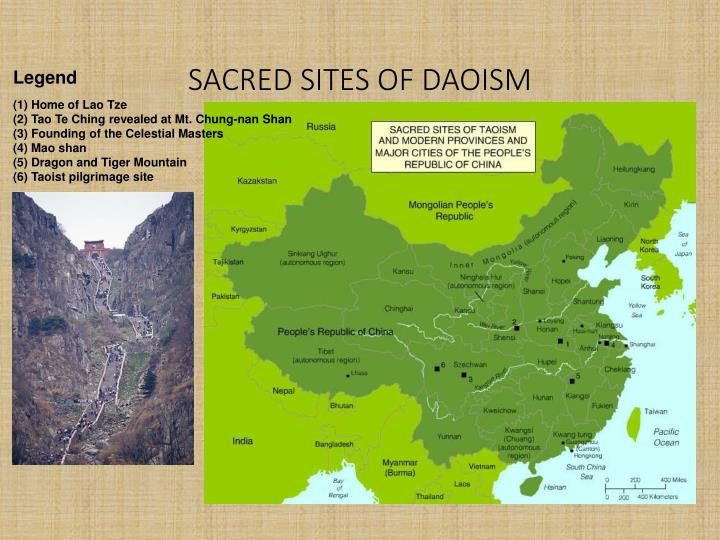 SACRED SITES OF DAOISM