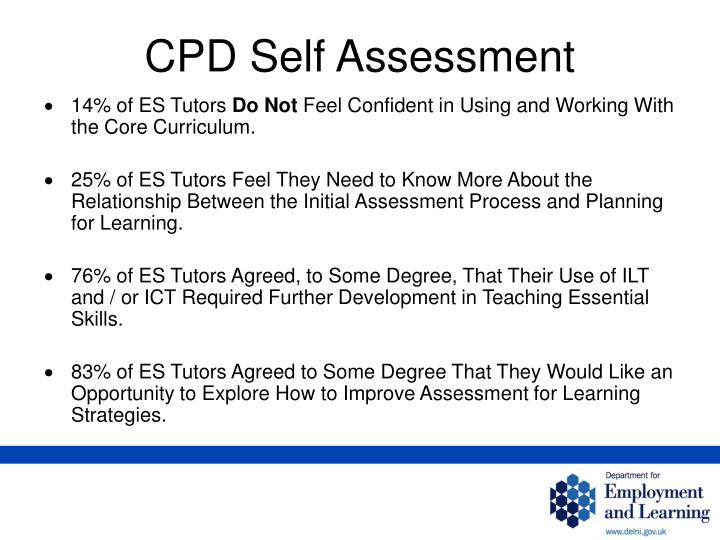 CPD Self Assessment