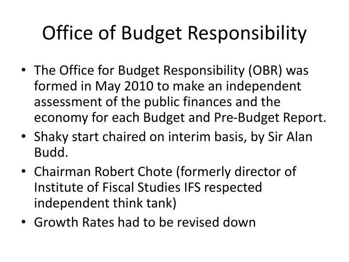 Office of Budget Responsibility