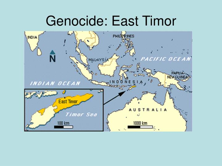 the east timor genocide Genocide in cambodia and east timor 3 the choice of topic for this paper arose out of the author's personal trip to cambodia in december 2005 and the time spent one afternoon in the countryside with a local family whose smiling, aged.