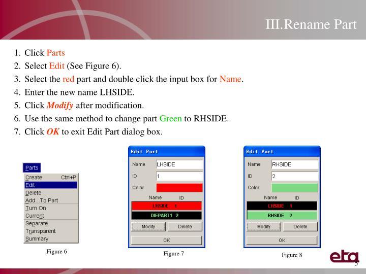 Rename Part