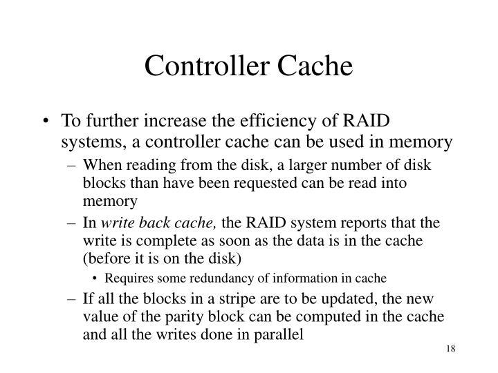 Controller Cache