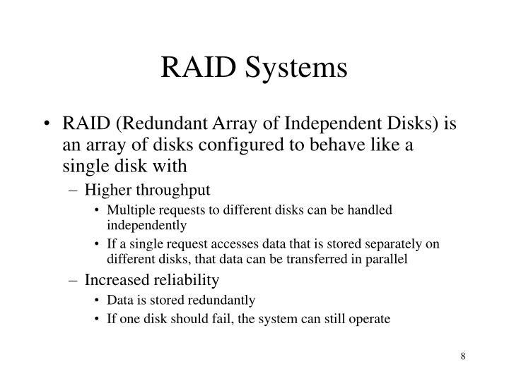 RAID Systems