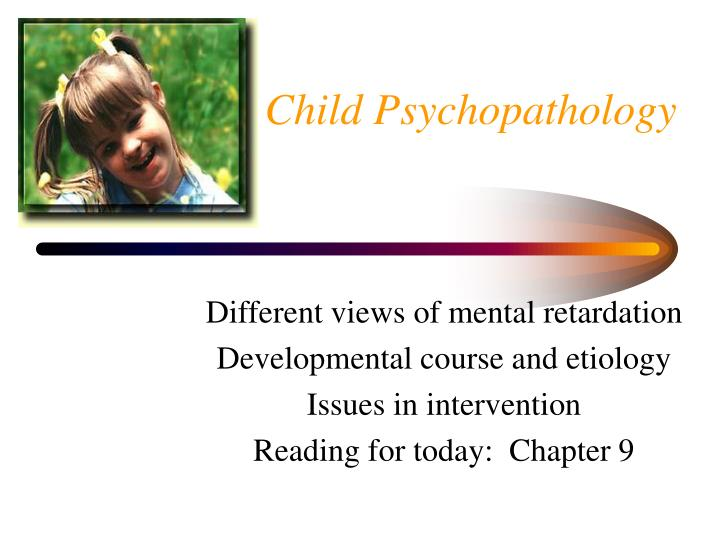 Child psychology essay topics