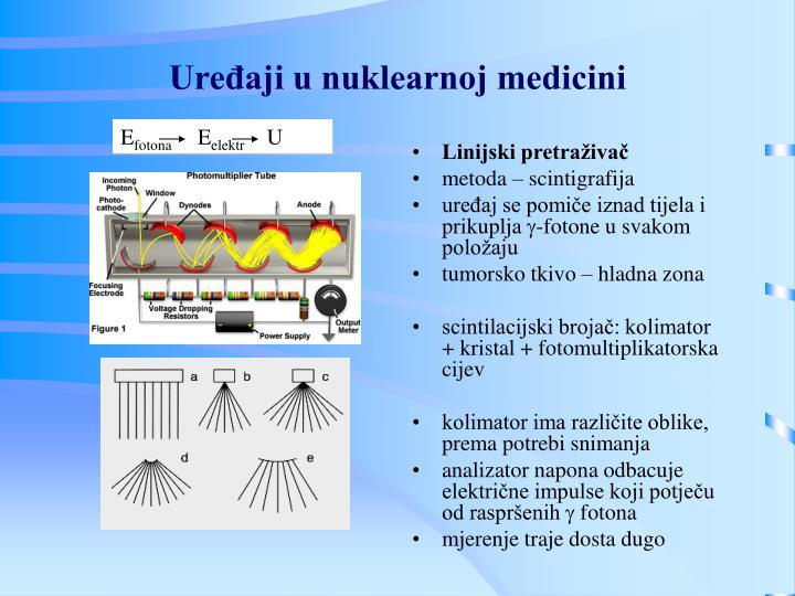 Uređaji u nuklearnoj medicini