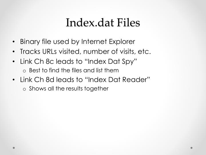 Index.dat