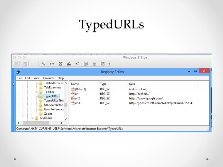 TypedURLs