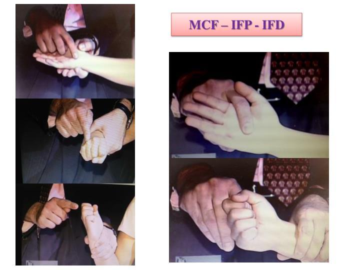 MCF – IFP - IFD