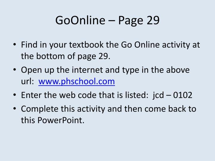 GoOnline