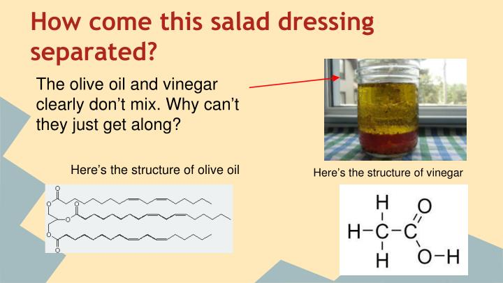 How come this salad dressing separated?