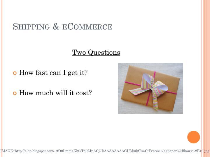 Shipping &