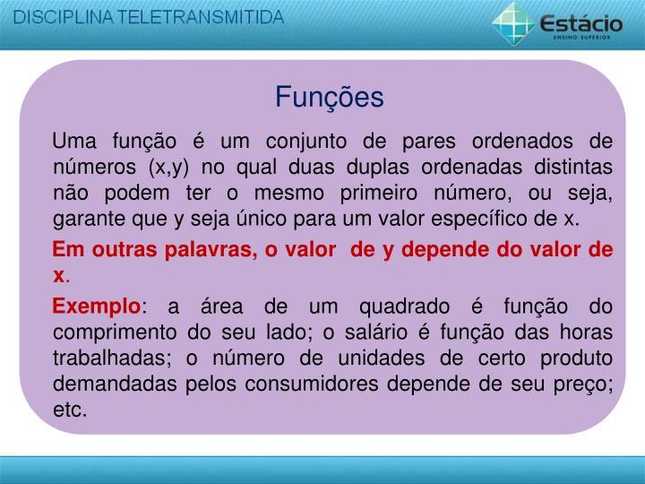 Funções