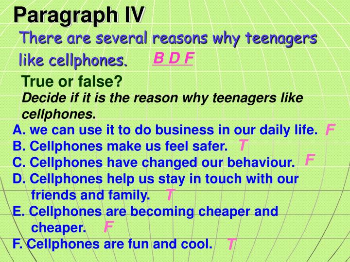 There are several reasons why teenagers
