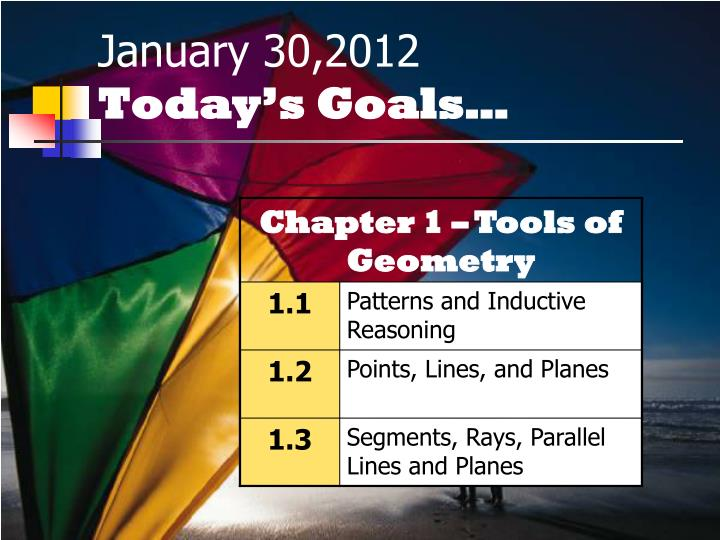 January 30,2012