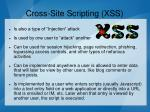 cross site scripting xss