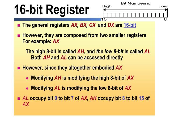 16-bit Register