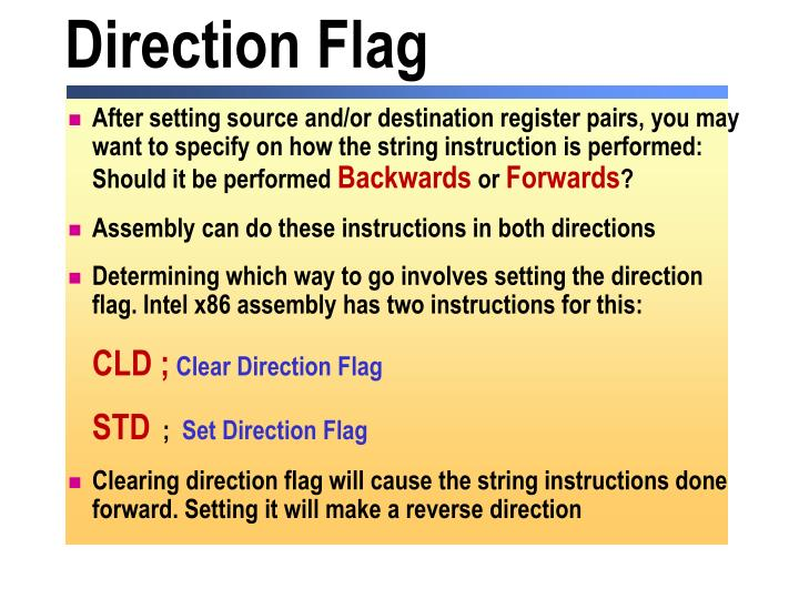 Direction Flag