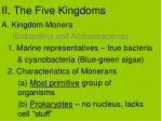 ii the five kingdoms