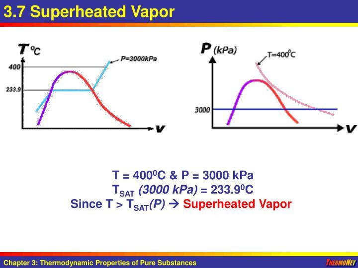 3.7 Superheated Vapor